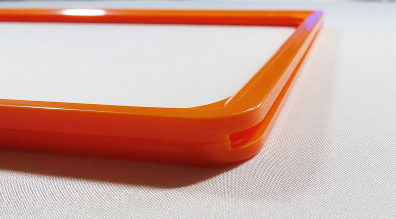 30012 - Rama plastic format A6 orange